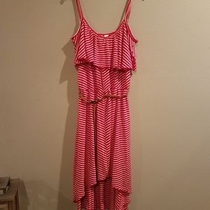 Women's No Boundaries high low dress size XL.